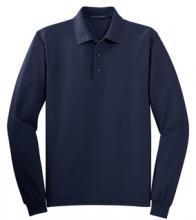 W0TLM Polo Long Sleeve Navy